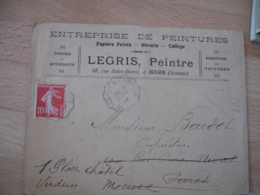 Mers Legris Peinture  Enveloppe Commerciale - France
