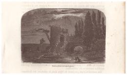 1844 - Gravure Sur Bois - Poitiers (Vienne) - La Porte Du Pont Joubert - FRANCO DE PORT - Prints & Engravings