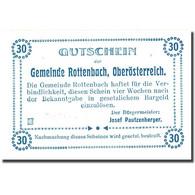Billet, Autriche, Rottenbach, 30 Heller, Eglise 1921-01-31, SPL, Mehl:851Ia - Autriche