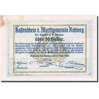 Billet, Autriche, Rehberg, 50 Heller, Château 1920, 1920-12-30, SUP, Mehl:FS 826 - Autriche