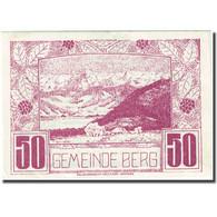 Billet, Autriche, Berg, 50 Heller, Montagne, 1920, 1920-06-27, SUP, Mehl:FS 81a - Autriche