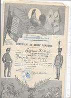 CERTIFCAT DE BONNE CONDUITE - 5e COMPAGNIE REGIONALE DU TRAIN - Documents