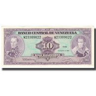 Billet, Venezuela, 10 Bolívares, 1992, 1992-12-08, KM:61c, SPL - Venezuela