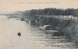 19 / 2 / 356. -  PARIS  - PETIT  BRAS   DE  LA  SEINE  AU  QUAI  DE  GRENELLE - La Seine Et Ses Bords