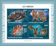 Niger 2018  Fauna  Owls  S201901 - Niger (1960-...)