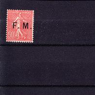 N° 6 - Franchise Stamps