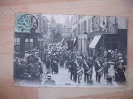 Beauvais  Defile Harmonie Municipale  Fete Jeanne Hachette 1906 - Beauvais