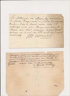 Elections Au Ban De Theux Au 18e Siècle - Manuscripts