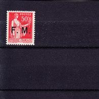 N° 7 - Franchise Stamps