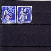 N° 8 Et 10 - Franchise Militaire (timbres)