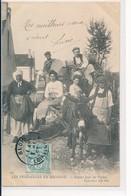 Les Vendanges En Sologne - Départ Pour Les Vignes - ND Phot N°147 Circulée Blois 1h45 1 Janvier 1905 Pour Naveil - Blois