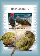 Niger 2018  Parrots  Fauna  S201901 - Niger (1960-...)