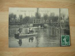Argentan Barque Le Deversoir Moulin De Dorion - Argentan
