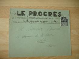 Albi  Le Progres    Enveloppe Commerciale - France