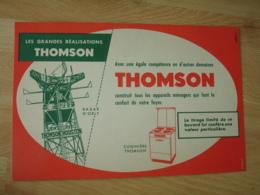 Thomson  Grande Realisation Radar Orly Cuisiniere   Buvard - Buvards, Protège-cahiers Illustrés