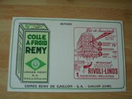 Gaillon Eure Magasin  Rue Rivoli  Colle Remy    Buvard Buvards - Buvards, Protège-cahiers Illustrés
