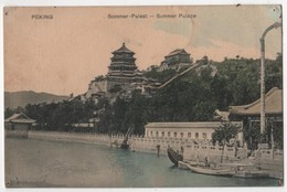 CHINA PEKING Sommer Palast - Chine