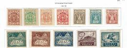 POLAND...1919  Imperforate - Unused Stamps