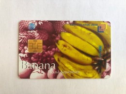 Indonesia - Chip Card Banana - 5000 Ex - Indonesia