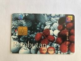 Indonesia - Chip Card Rambutan - 5000 Ex - Indonesia