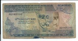 Ethiopie,billet Ancien De 50 - Ethiopie