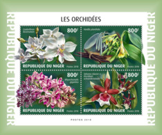 Niger 2018   Orchids  Flowers S201901 - Niger (1960-...)