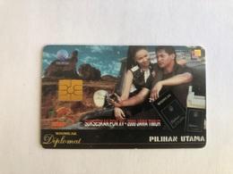 Indonesia - Chip Card - Diplomat - 1000 Ex - Indonesia