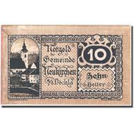 Billet, Autriche, Neukirchen, 10 Heller, Eglise 1920-12-31, SPL, Mehl:FS 657 - Autriche