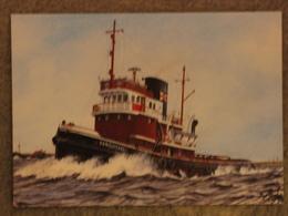 ELLIOTT STEAM TOWING VANQUISHER - Tugboats