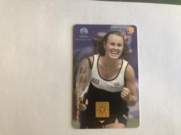 Indonesia - Chip Card - Martina Hingis - 1000 Ex - Indonesia