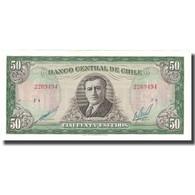 Billet, Chile, 50 Escudos, KM:140b, NEUF - Chili