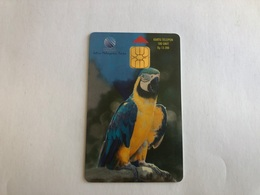 Indonesia -   Chip Card - Bird Parrot - 28000  Ex - Indonesia
