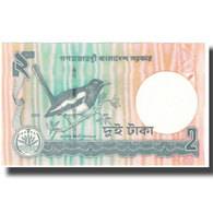 Billet, Bangladesh, 2 Taka, Undated (1988- ), KM:6Cj, NEUF - Bangladesh