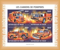 Niger 2018   Fire Engines S201901 - Niger (1960-...)
