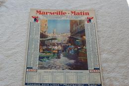 CALENDRIER MARSEILLE MATIN 1935 - Calendriers