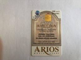 Indonesia -  Chip Card - Arios - 5050 Ex - Indonesia