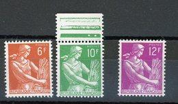 FRANCE -  MOISONNEUSE - N° Yvert  1115+1115A+1116** - Neufs