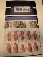 SPEZIAL-Sammlung Niederlande NL 2000-2004 Postfrisch Blocks F-Bl. H-Bl. (1557) - 1980-... (Beatrix)