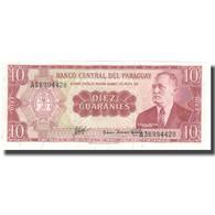 Billet, Paraguay, 10 Guaranies, KM:196a, SPL+ - Paraguay