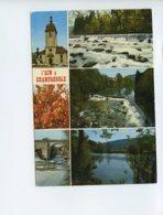 Piece Sur Le Theme De Multivues - L Ain A Champagnole - Jura - Oblit En 1972 - Autres Communes