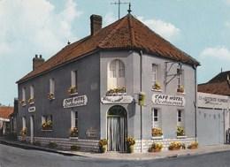 ERVAUVILLE CAFE HOTEL RESTAURANT LE RELAIS DU MUGUET CPSM GF CARTE NEUVE - France