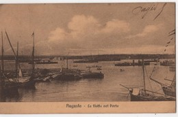 ITALIA AUGUSTA  Flotta Nel Porto - Siracusa