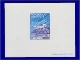 Astronautique - Année: 1977 - GABON,YV. PA 197,EP. DE LUXE:opération Viking* - Espace