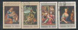 N° Yv 462/466 - UNESCO - Tableaux De Maître - Mongolie