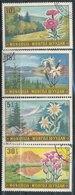 N° Yv 488/492 - Fleurs De Montagne - Mongolie