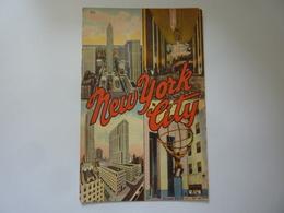 "Cartolina ""NEWY YORK"" Anni '50 - New York City"