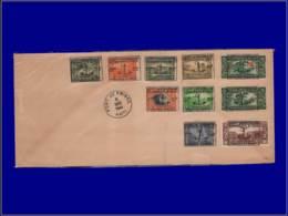 """C. Colomb - Année: 1942 - HAITI,ENV. CAC SPECIAL CARRE 6/12/42:""""450° Anniversaire Découverte D'Haiti,ancre*,Santa Maria* - Christophe Colomb"""