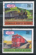 N° Stanley 818,819 - 50° Anniversaire Des Transports Publics - Mongolie