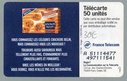 F536A Crackers Belin SO5 Justifié à Droite A 51114477  497111541 - France