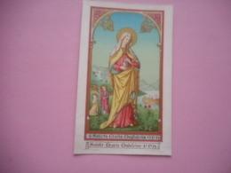 DEVOTIE-LITH.ST.AUGUSTIN-SANCTA MARIA-MAGDALENA - Religion &  Esoterik